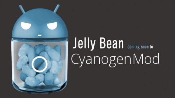 Jelly Bean CyanogenMod 10
