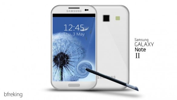 Galaxy Note 2 concept