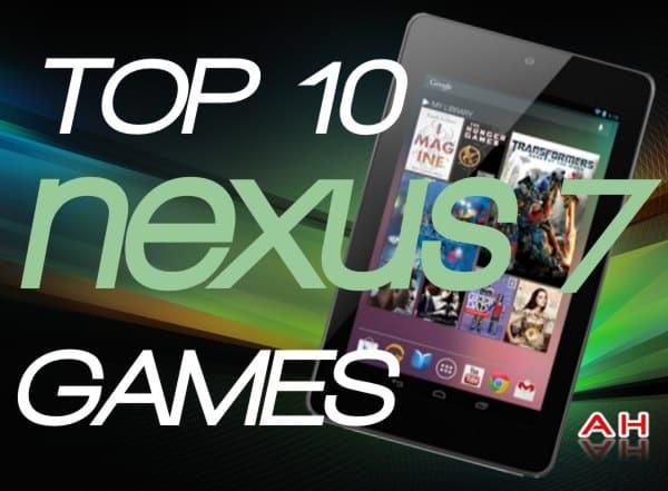 NEXUS 7 TOP10 GAMES