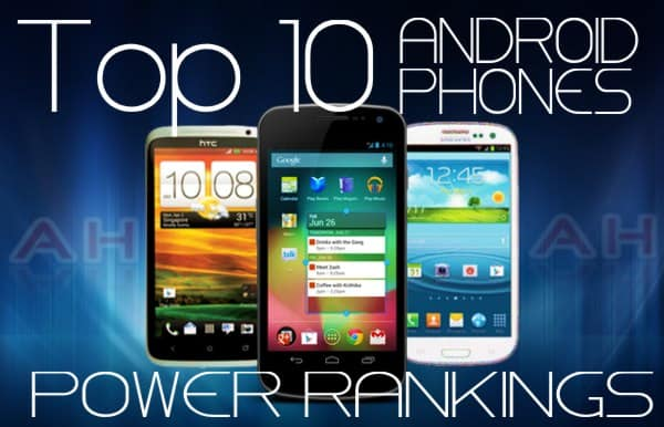 Top 10 Android Phones Androidheadlines
