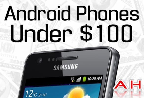 android phones under 100