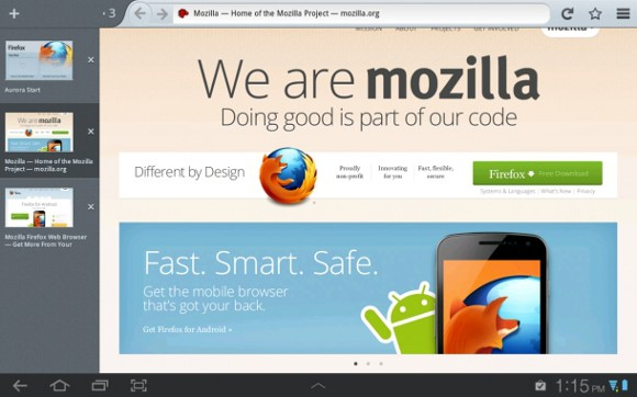 Featured: Firefox For Android Gets Updated UI And Faster Speeds On Tablets