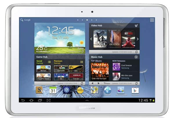 Featured: Samsung Galaxy Note 10.1 Arriving August 16th, Starts At $499