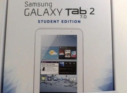 galaxy tab 2 student edition