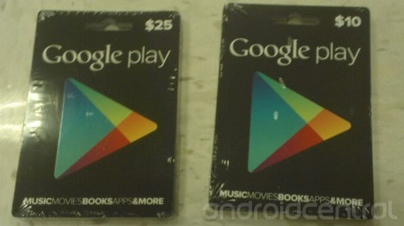 Featured: Google Play Gift Cards Launching Very Soon