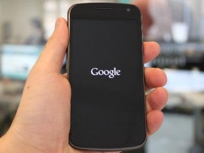 samsung galaxy nexus verizon google logo 1