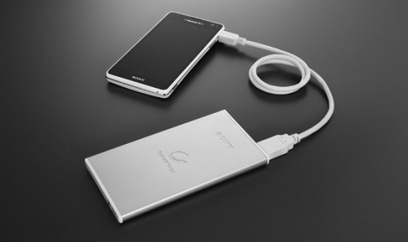 Featured: Sony Wants To Keep Your Devices Charged With Good Lookin' External Batteries