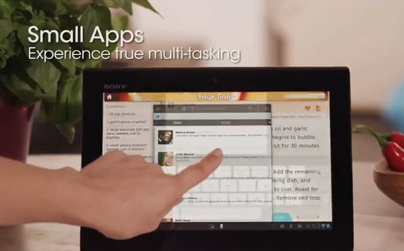 Featured: The Sony Xperia Tablet S Gets Shown Off (Videos Inside)
