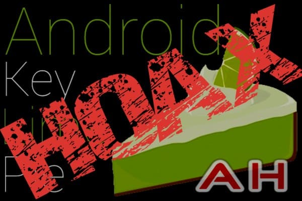 Android 4.2 Hoax
