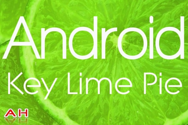 Key Lime Pie Android 2.1