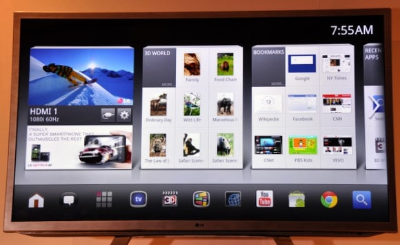 Featured: LG Giving Google TV The Cold Shoulder, Going The Way Of webOS