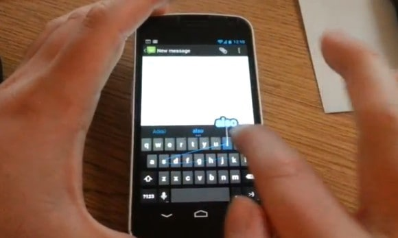 How To Get Gesture Typing From Android 4.2 Jelly Bean