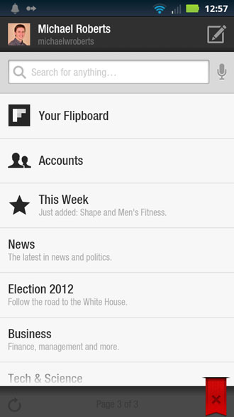 Flipboard Account