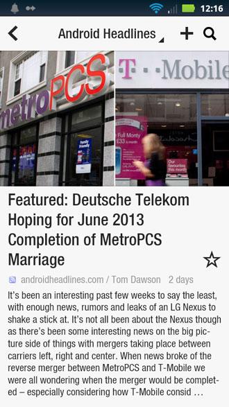 Flipboard Android Headlines