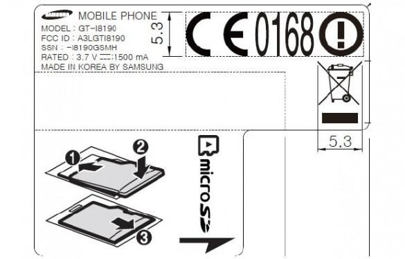 Galaxy S3 Mini FCC