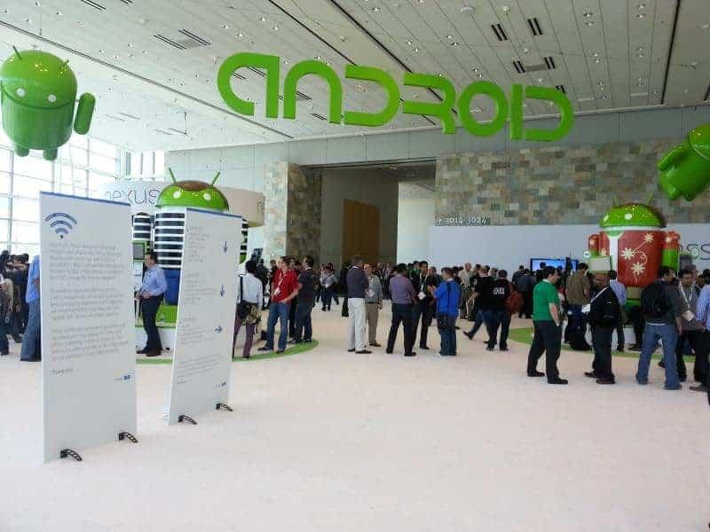google io android display