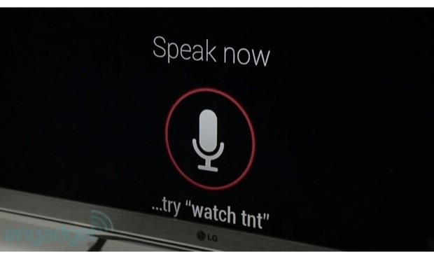 Google TV Voice Search