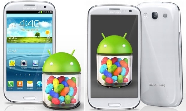GS3 Jelly bean