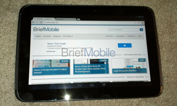 Featured: The Nexus 10 Finally Shows Its Face With Confirmed Specs