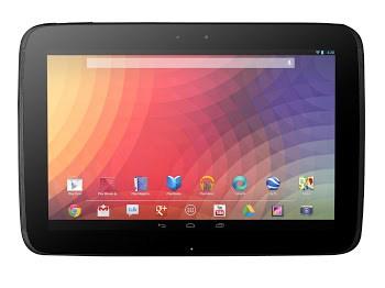 Nexus 10 interface