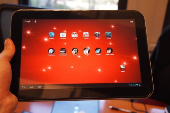 Featured: Quad-Core Toshiba Jelly Bean Tablet Coming Soon, Shows FCC