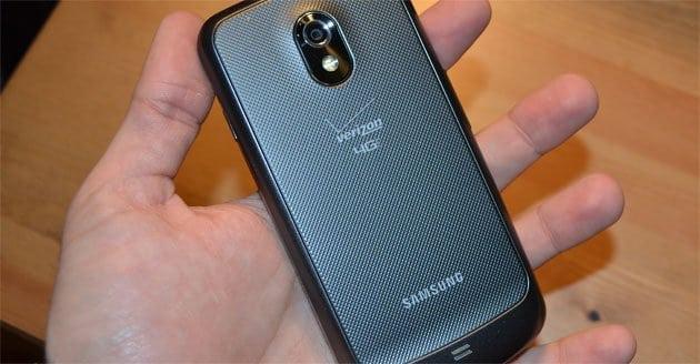 20 Verizon Galaxy Nexus hands on
