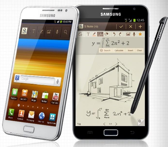 Samsung Galaxy Note (GT-N7000) Gets Jelly Bean 4.1.2 Leak