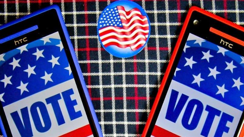 VOTE smartphone
