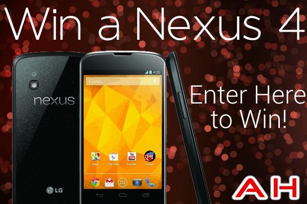 Google LG Nexus 4 Giveaway Contest