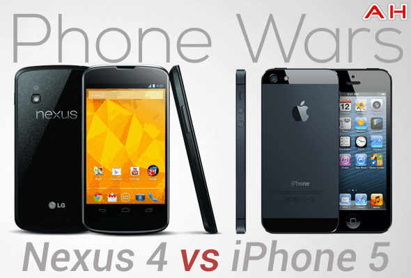Phone Wars 1 Nexus 4 Vs iPhone 5