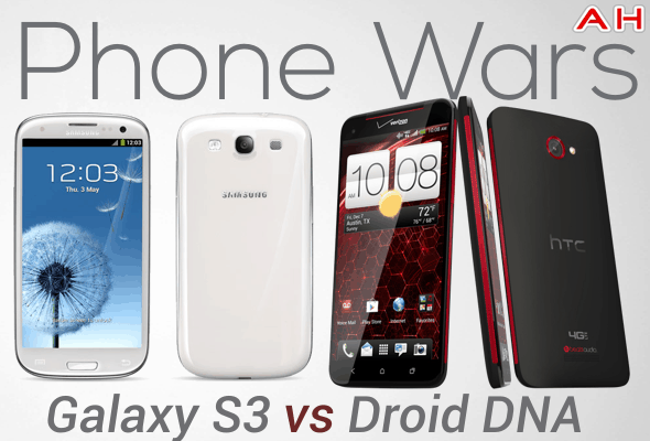 Phone Wars DROID DNA Vs Galaxy S3