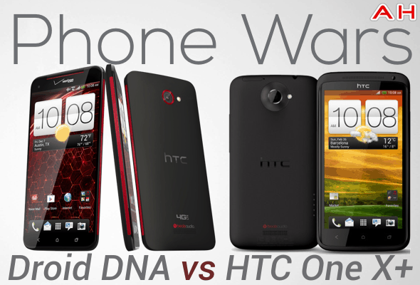 Phone Wars Droid DNA VS HTC One X plus