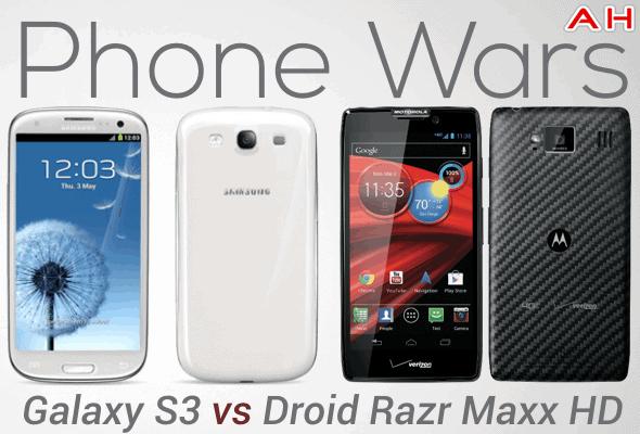 Phone Wars GS3 VS Droid Razr Maxx HD