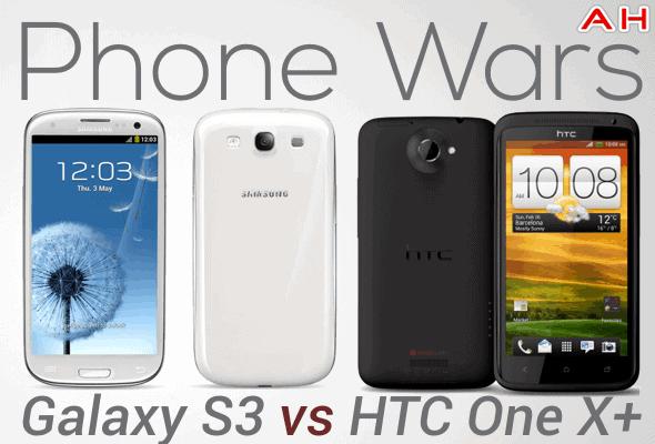 Phone Wars GS3 VS HTC One X+