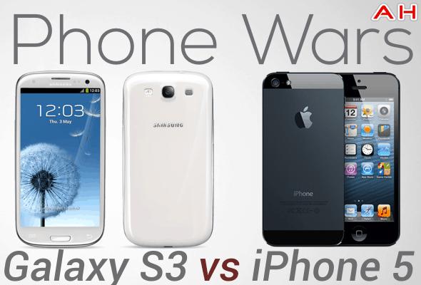 Phone Wars Galaxy S3 Vs iPhone 5
