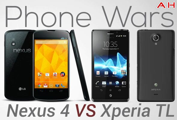 Phone Wars Nexus 4 Vs Xperia TL