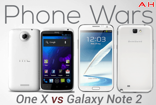 One Phones Phone Wars One vs Galaxy Note