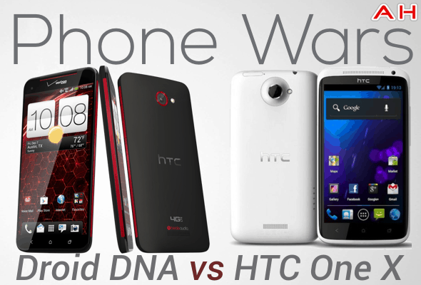 Phone Wars droid dna VS HTC One X