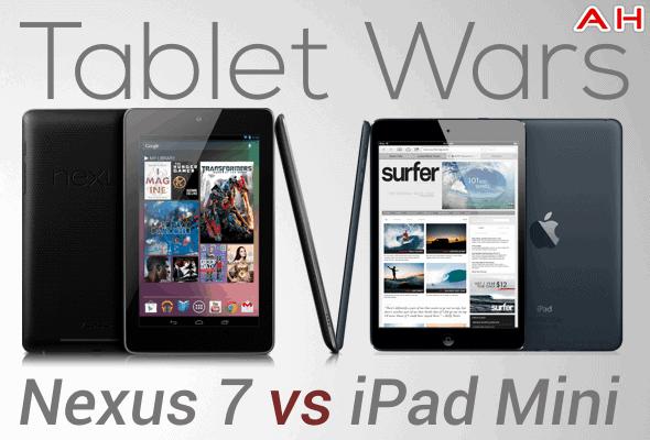 Tablet Wars 1 Nexus 7 Vs iPad Mini