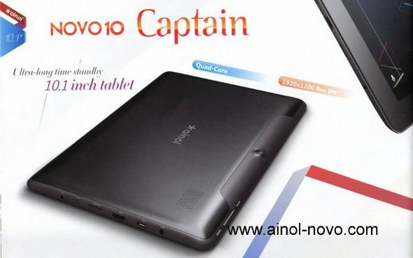 Ainol Novo 10 Captain Takes On Nexus 10 For Just $213