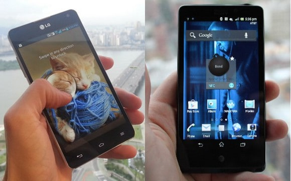 LG Optimus G And Sony Xperia TL Available Now On AT&T