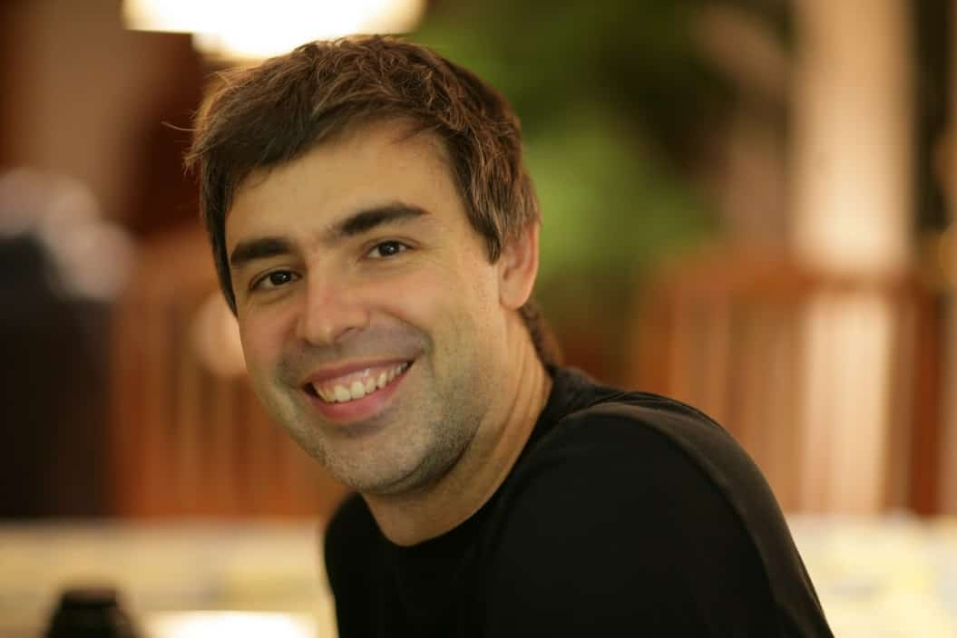 Larry Page Google's CEO