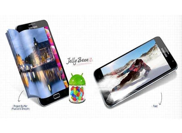 Samsung Galaxy Note Jelly Bean