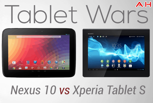 Tablet Wars Nexus 10 Vs Xperia Tablet S