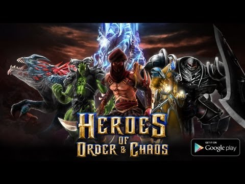Video thumbnail for youtube video Android Game Spotlight: Heroes Of Order And Chaos | Androidheadlines.com