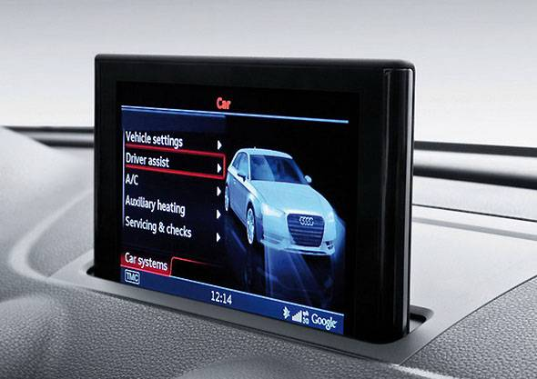 Audi in car dash with Tegra chipset