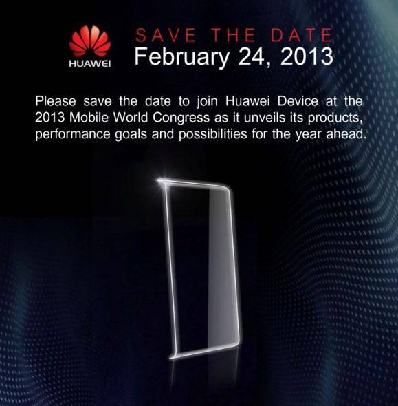 Huawei MWC Invitation