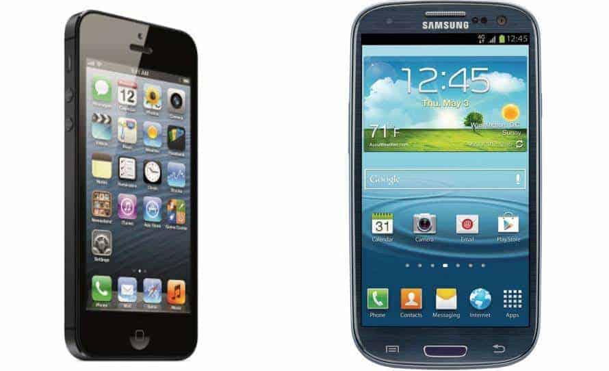 iPhone-5-vs-Galaxy-S-III