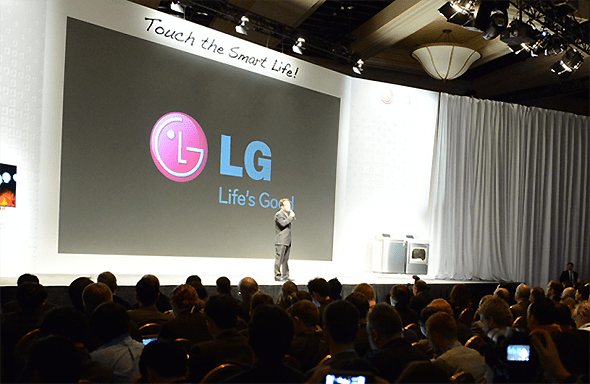 LG's CES 2013 Press Conference