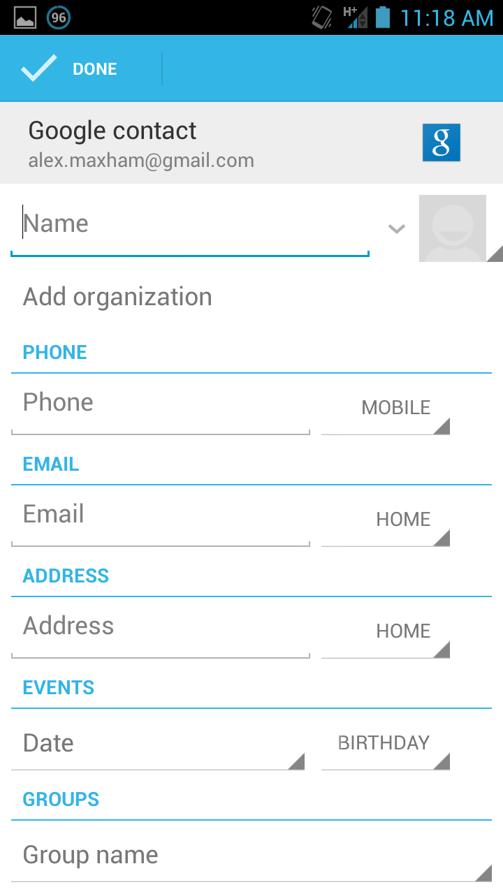 How to add people in contact 29